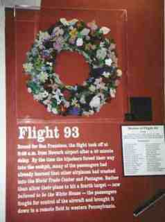 Flight 93 Wreath